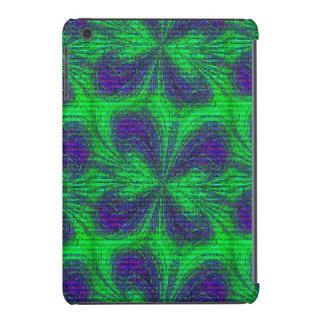 Mariposa del mosaico, mini caja Púrpura-iPad Funda De iPad Mini