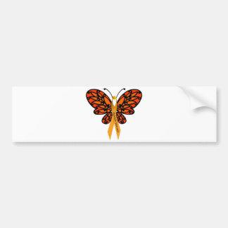 Mariposa del ms pegatina para auto