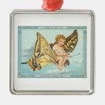 Mariposa del navidad ornamento para reyes magos