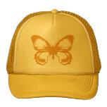 Mariposa del oro gorras de camionero