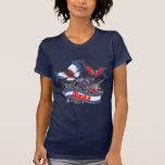Mariposa del patriotismo de Alaska Camiseta