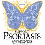 Mariposa del psoriasis esculturas fotográficas