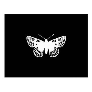 Mariposa del punto del inspector postales