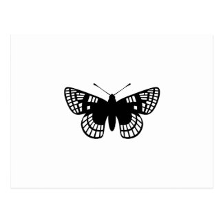 Mariposa del punto del inspector tarjeta postal