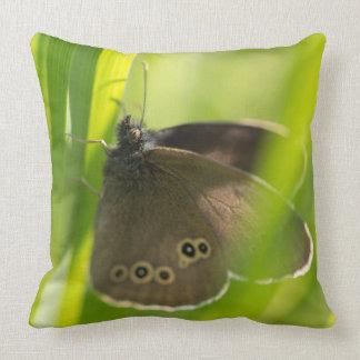 Mariposa del rizo almohada