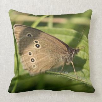 Mariposa del rizo almohadas