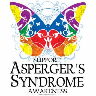 Mariposa del síndrome de Asperger Fotoescultura Vertical