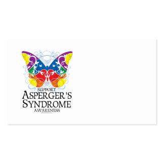 Mariposa del síndrome de Asperger Tarjetas De Visita