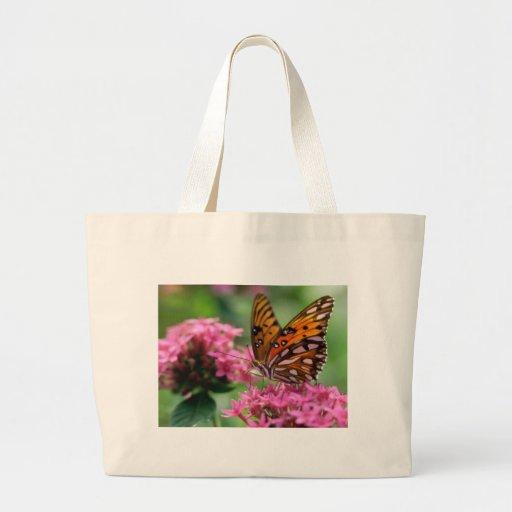 mariposa del social de las rondas de las mariposas bolsas lienzo