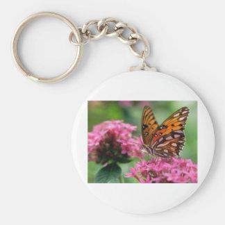 mariposa del social de las rondas de las mariposas llavero