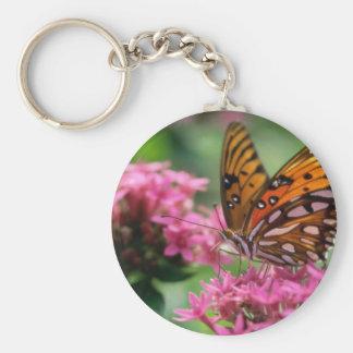 mariposa del social de las rondas de las mariposas llaveros