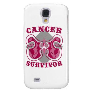 Mariposa del superviviente del cáncer de garganta