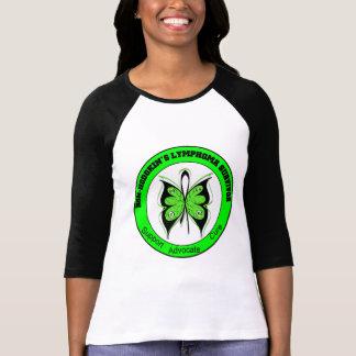 Mariposa del superviviente del linfoma Non-Hodgkin Camiseta