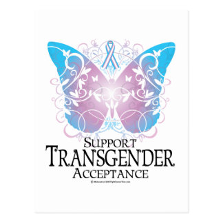 Mariposa del transexual postal
