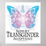Mariposa del transexual póster