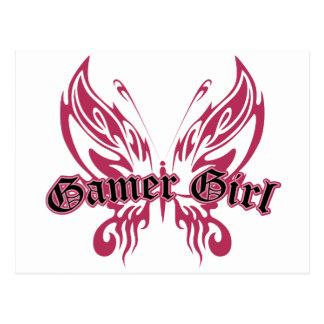 Mariposa del videojugador postal