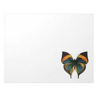 Mariposa del vintage - 1800's mariposa antigua Lit Blocs De Notas