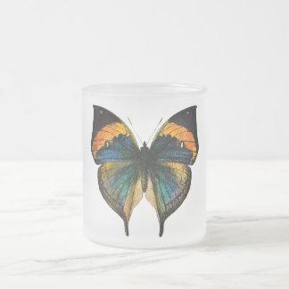 Mariposa del vintage - 1800's mariposa antigua Lit Tazas
