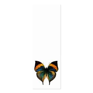 Mariposa del vintage - 1800's mariposa antigua tarjetas de visita mini