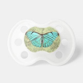 Mariposa del vintage chupetes para bebes