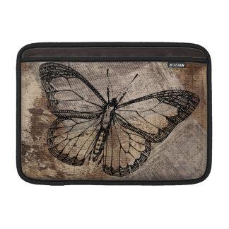 Mariposa del vintage funda macbook air