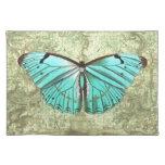 Mariposa del vintage mantel individual