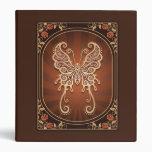 Mariposa delicada de Brown del vintage