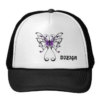 mariposa, DIZIGN Gorras