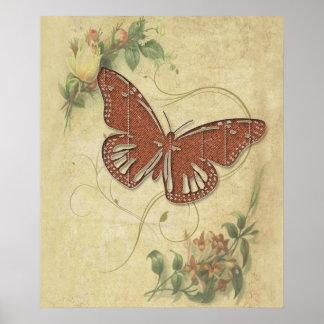 Mariposa dulce impresiones