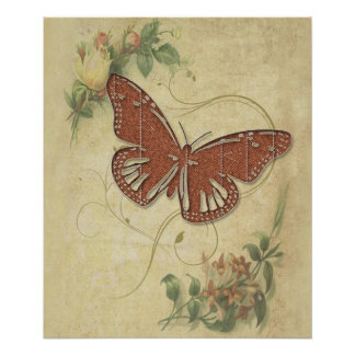 Mariposa dulce póster