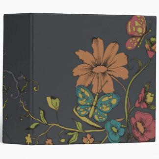 mariposa elegante del vintage y design-01 floral