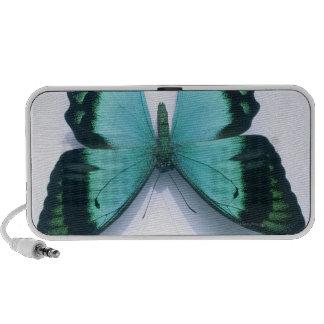 Mariposa en blanco mp3 altavoz