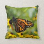 Mariposa en el campo almohadas