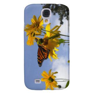 Mariposa en el caso del iPhone 3 del cielo