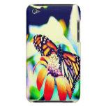 Mariposa en la flor Case-Mate iPod touch carcasa
