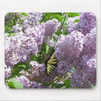 Mariposa en la lila Mousepad