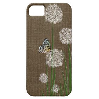 mariposa en la pelusa funda para iPhone SE/5/5s