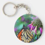 Mariposa en llavero de la foto del arte de Digitac
