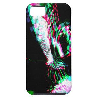 Mariposa en regalos negros iPhone 5 fundas