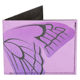 Mariposa en sombras de la púrpura billeteras tyvek®