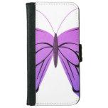 Mariposa en sombras de la púrpura carcasa de iPhone 6