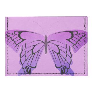 Mariposa en sombras de la púrpura tarjeteros tyvek®