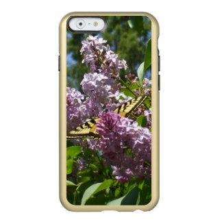 Mariposa en una lila Bush Funda Para iPhone 6 Plus Incipio Feather Shine