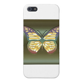 Mariposa en verde iPhone 5 funda