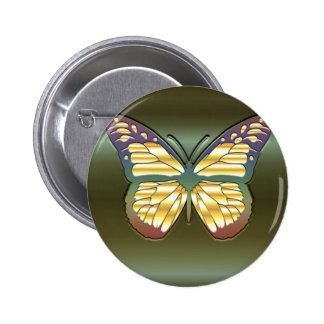 Mariposa en verde pins