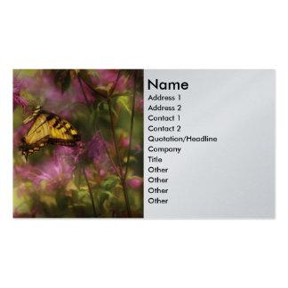 Mariposa - época dorada tarjeta personal
