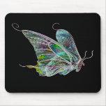 Mariposa exótica Mousepad Alfombrilla De Raton