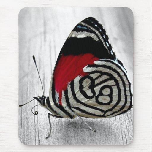 Mariposa exótica Mousepad Alfombrillas De Ratón