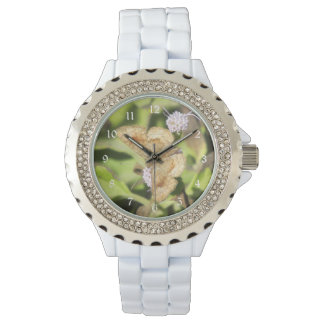 Mariposa fatal de Metalmark Relojes De Pulsera
