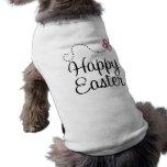 Mariposa feliz de Pascua Camiseta De Perro